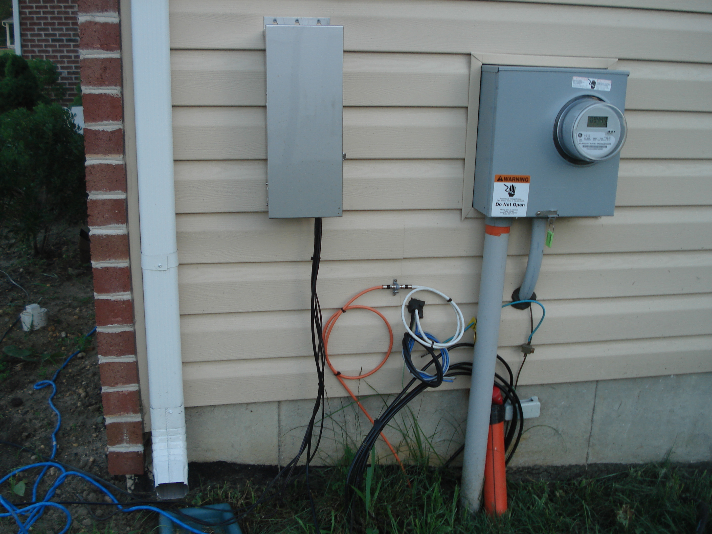 Electric Meter On House : Our home from scratch