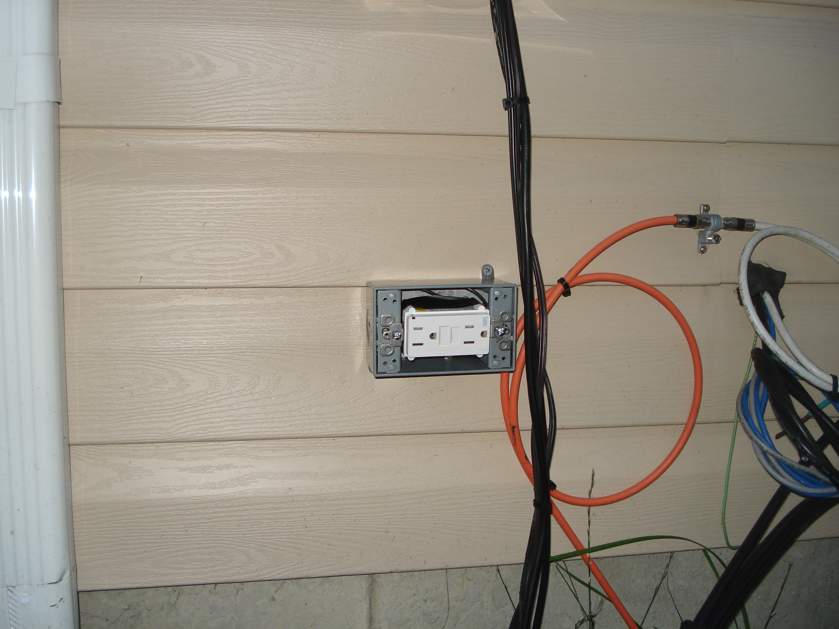 our home from scratch rh ourhomefromscratch com install outdoor electrical box install outdoor electrical box