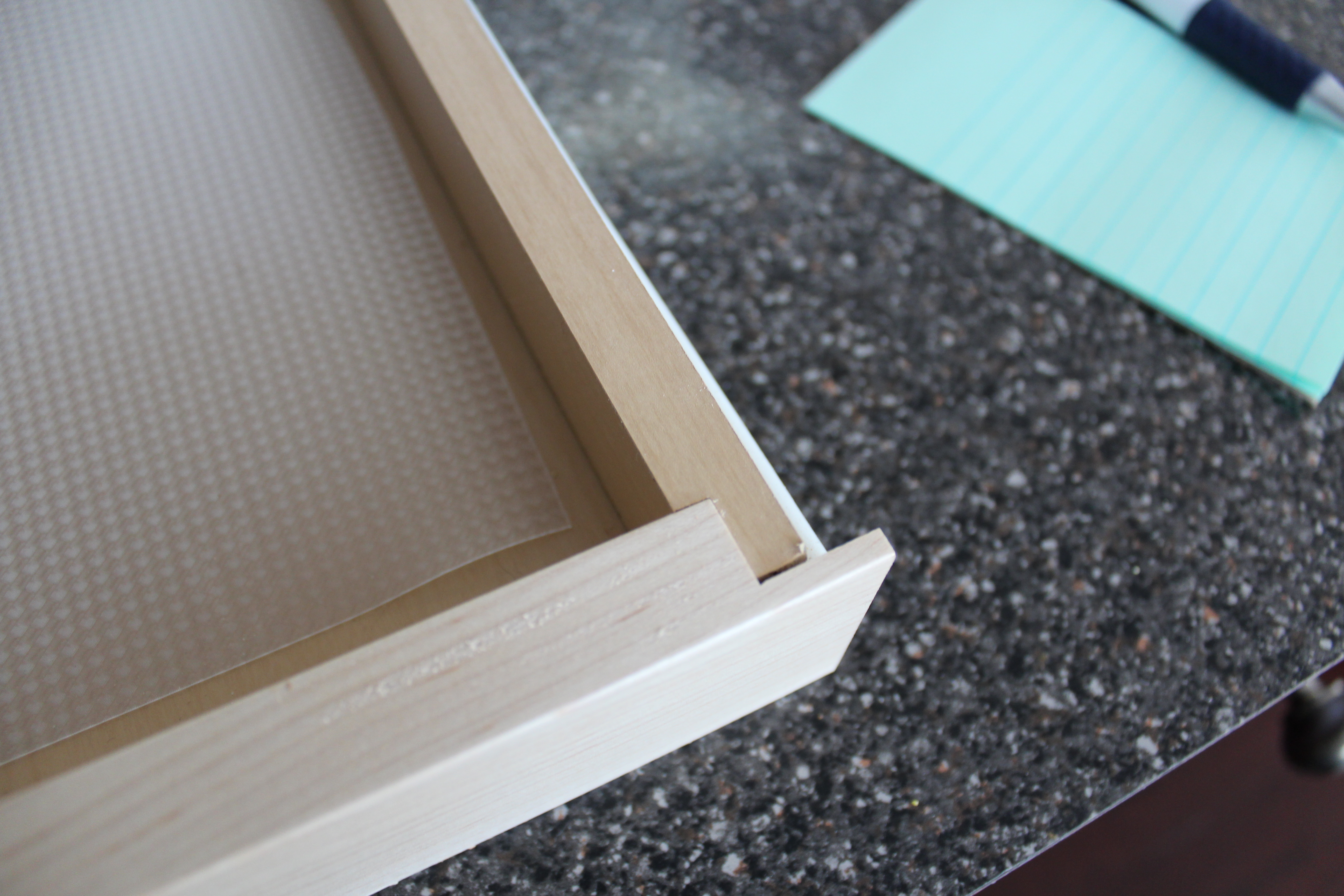 Particle board and cherry veneer movie