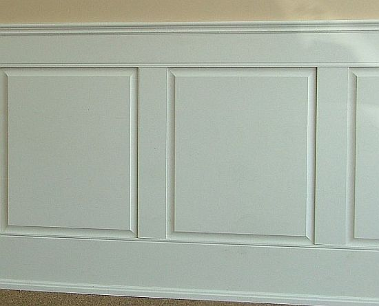 making wainscoting