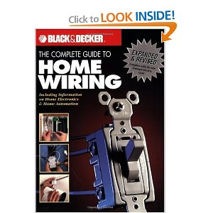 our home from scratch rh ourhomefromscratch com Home Electrical Wiring Books Books On Wiring a House