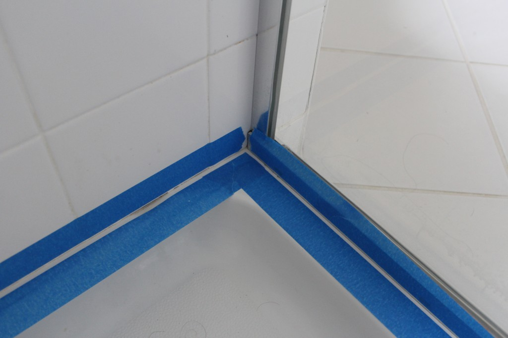 Clean Mold In Shower Caulking
