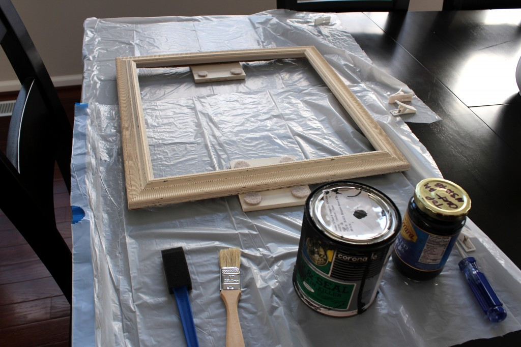 frame painting