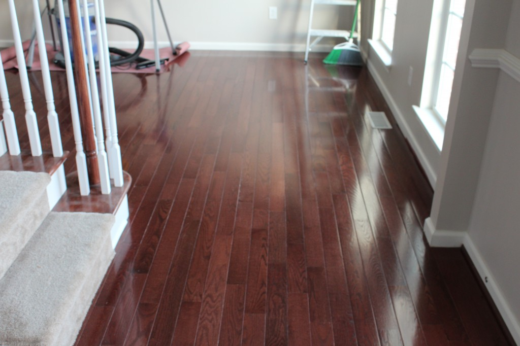 new hardwood floor installation