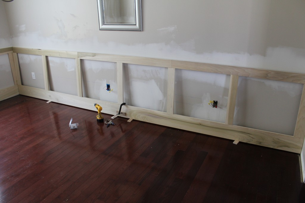 raised panel wainscoting frame