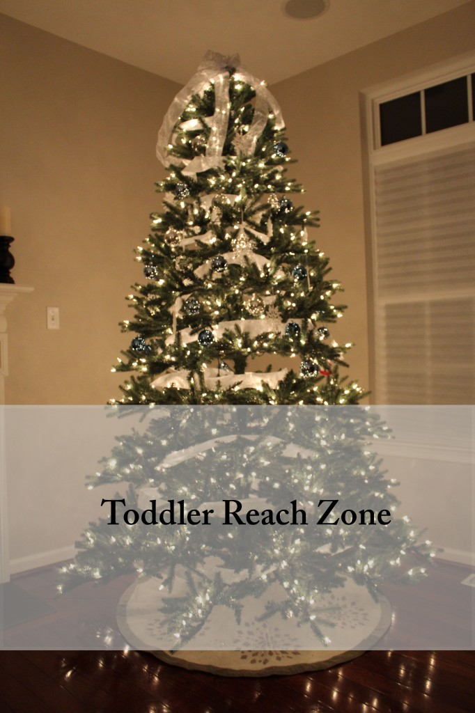 toddler safe tree