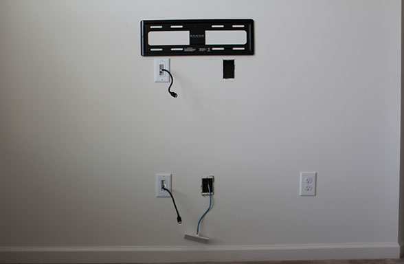 Our home from scratch flat screen mount after ccuart Image collections