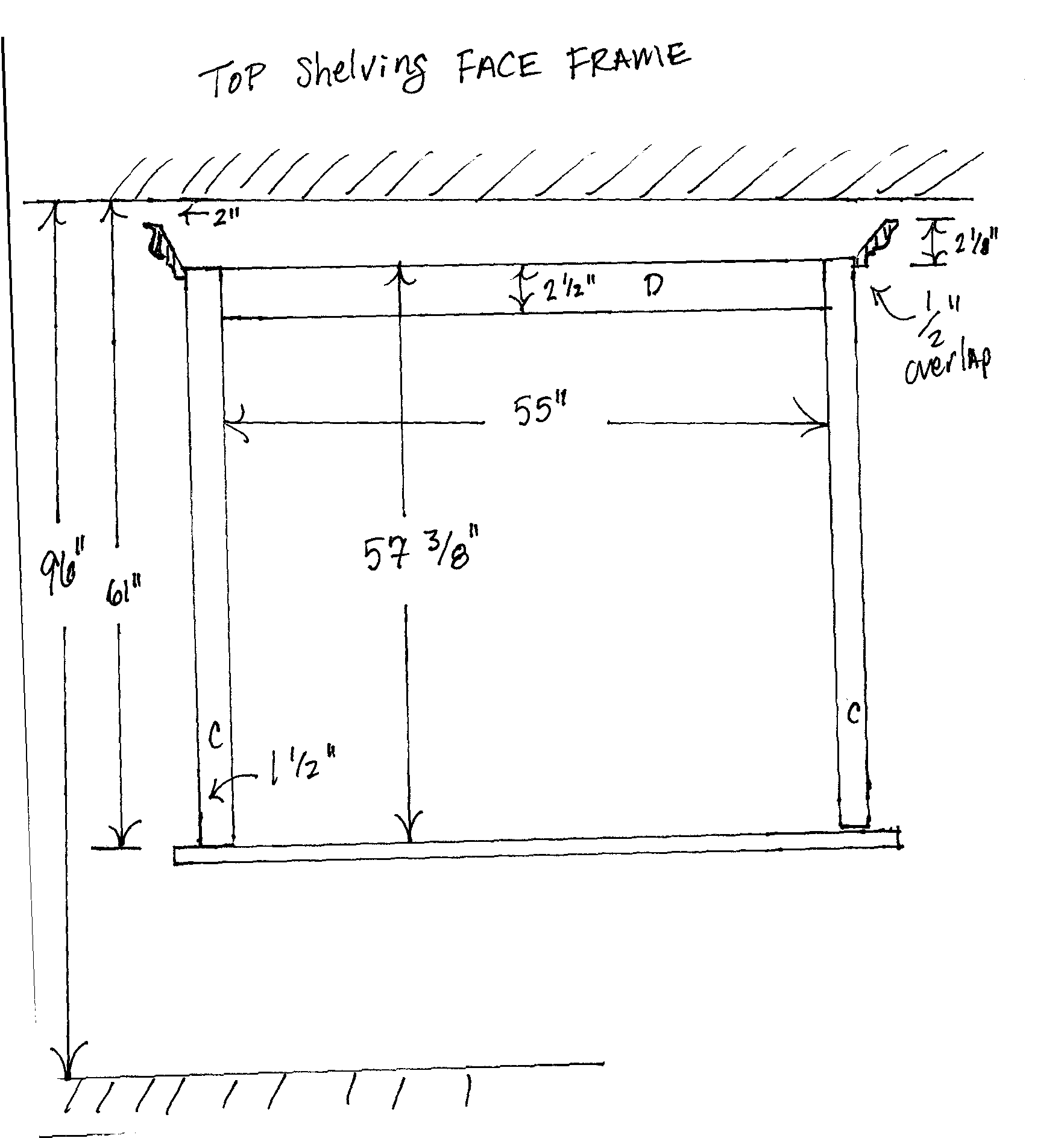 Top Face Frame