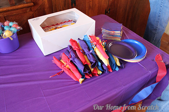 wiggles theme birthday party 2