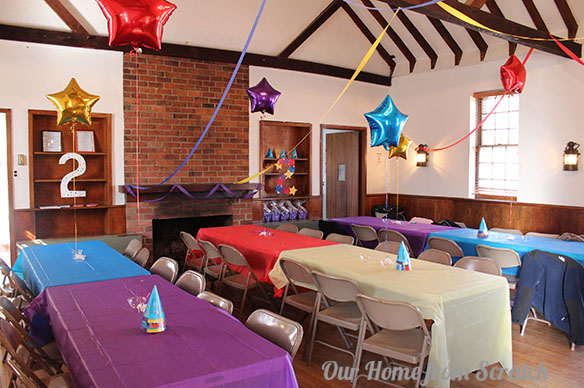 wiggles themed birthday party