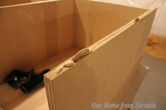 biscuit in joint & How to Build a Cabinet