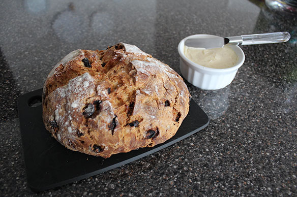 Brown Butter Soda Bread With Honey - Cinnamon Butter ...