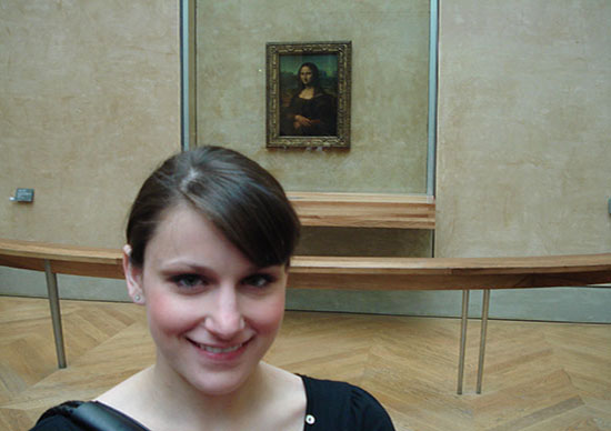 Lisa and Mona Lisa