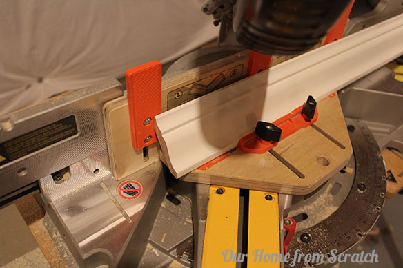 crown molding miter saw