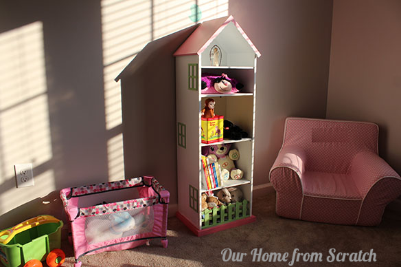 doll house shelf