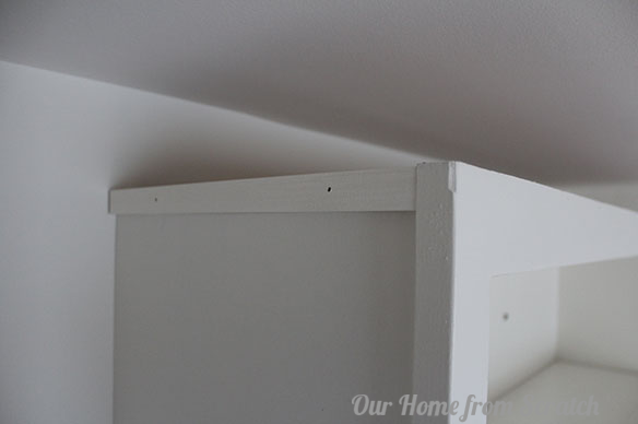 shimming crown molding