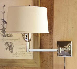 clapton swing-arm sconce