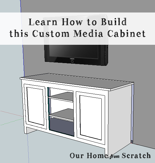 How to build a tv stand from scratch diy patio furniture for How to build a wooden table from scratch