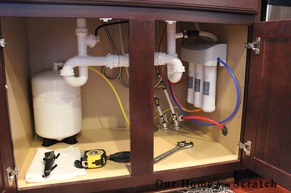 reverse osmosis under sink