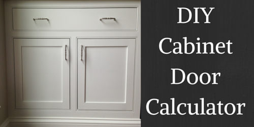 Cabinet Door Calculator