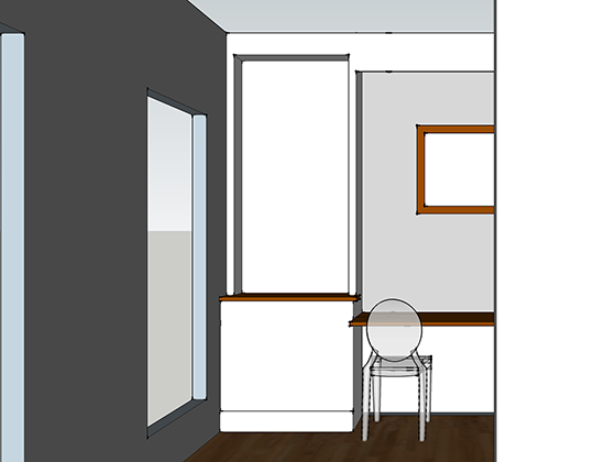 office layout option 4 front