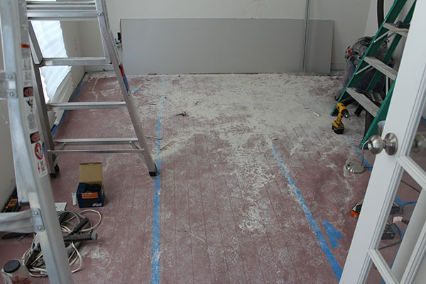 drywall floor protection
