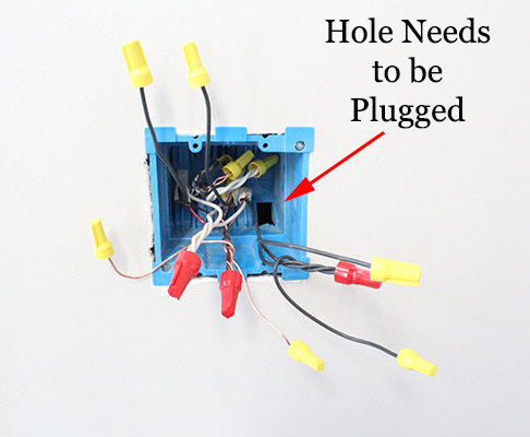 plug holes our home from scratch