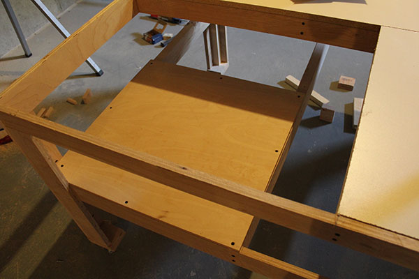 table saw bench 1