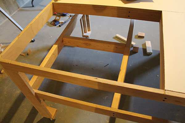 table saw work station 1