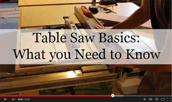 table saw video