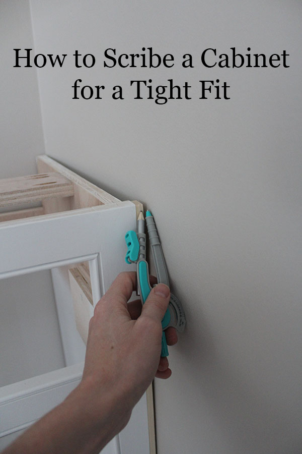how-to-scribe-a-cabinet