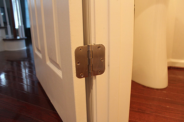 door hinge before