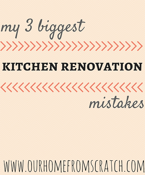 kitchen mistakes