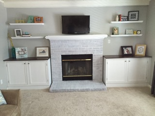 fireplace built-ins