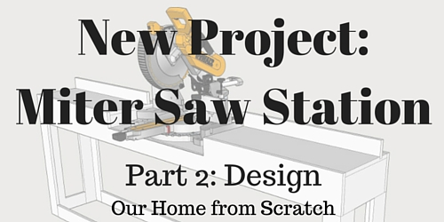 Miter saw station design