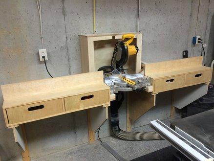 miter saw station fixed