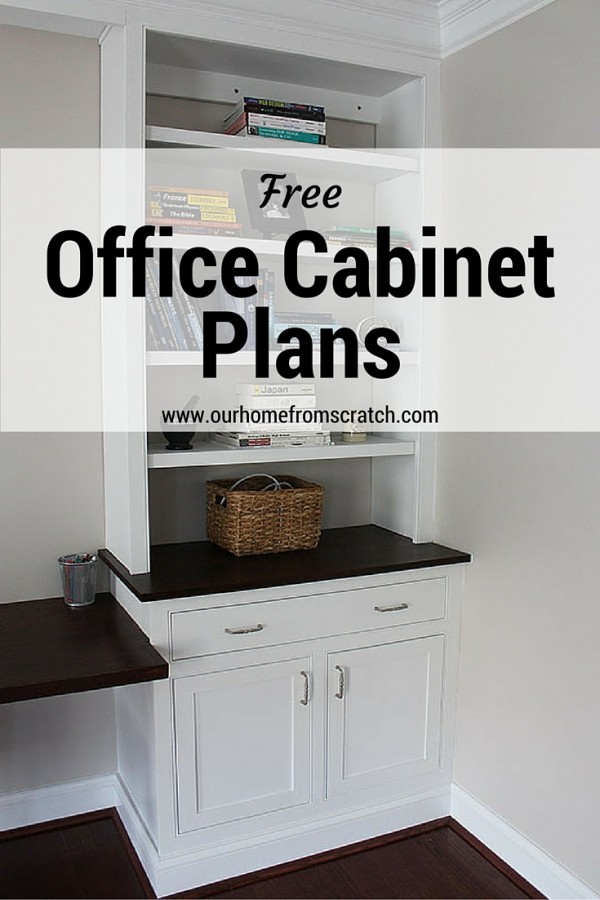 home office cabinet plans