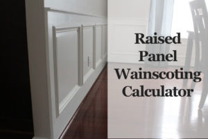 wainscoting-calculator
