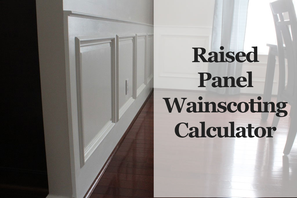 Laying out wainscoting with buildcalc | thisiscarpentry.