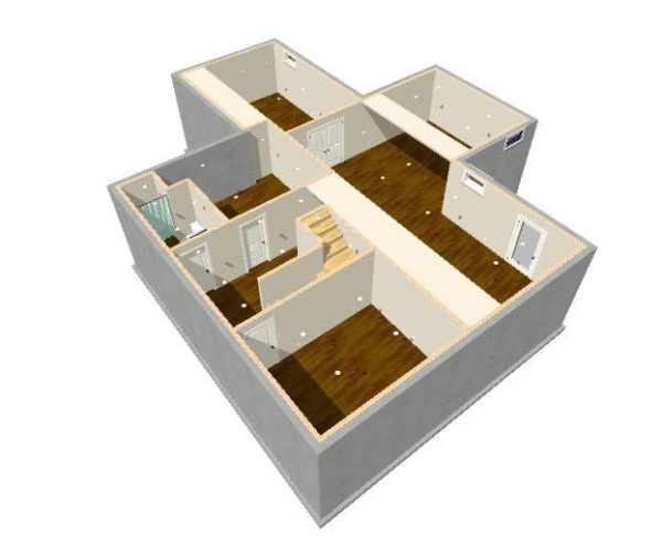 Our home from scratch for Basement design software online