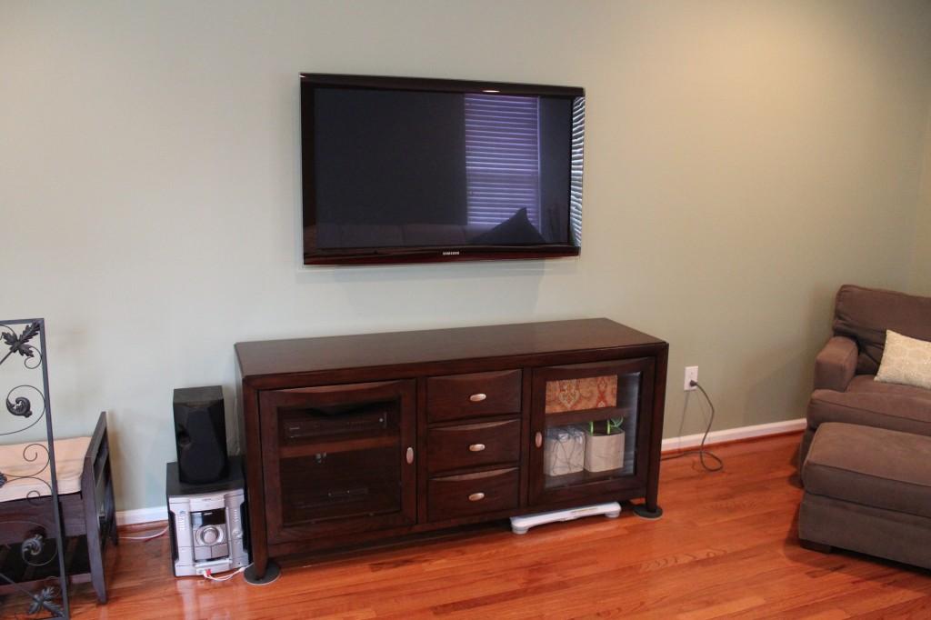 Flatscreen Tv Mounted 1024x682