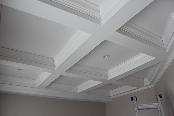 Coffered Ceiling Tips For Better Crown Molding Results
