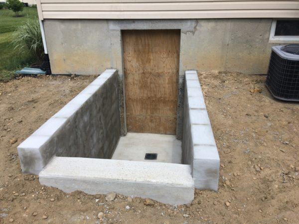 Parged Block Walls